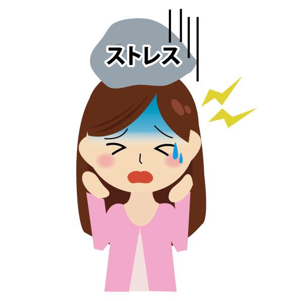 ストレスで副腎疲労