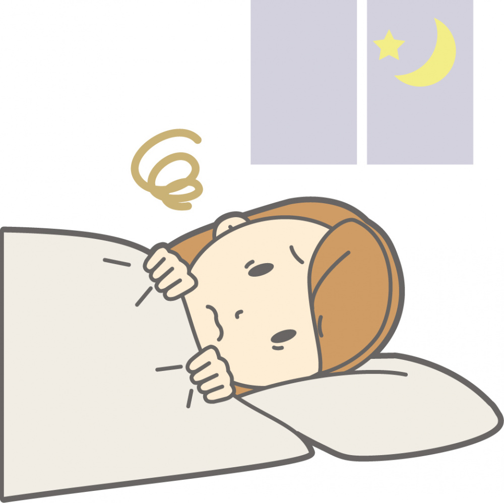 つらい不眠症